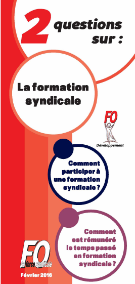 2 question sur la Formation syndicale