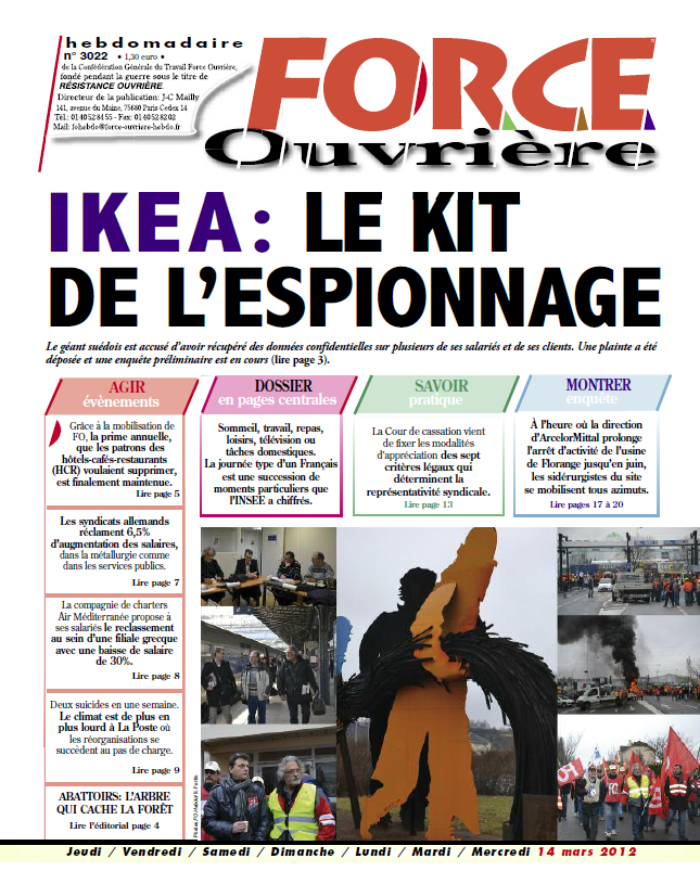 Ikea l espion qui venait du froid fo bouchara - Ikea suivi de commande ...
