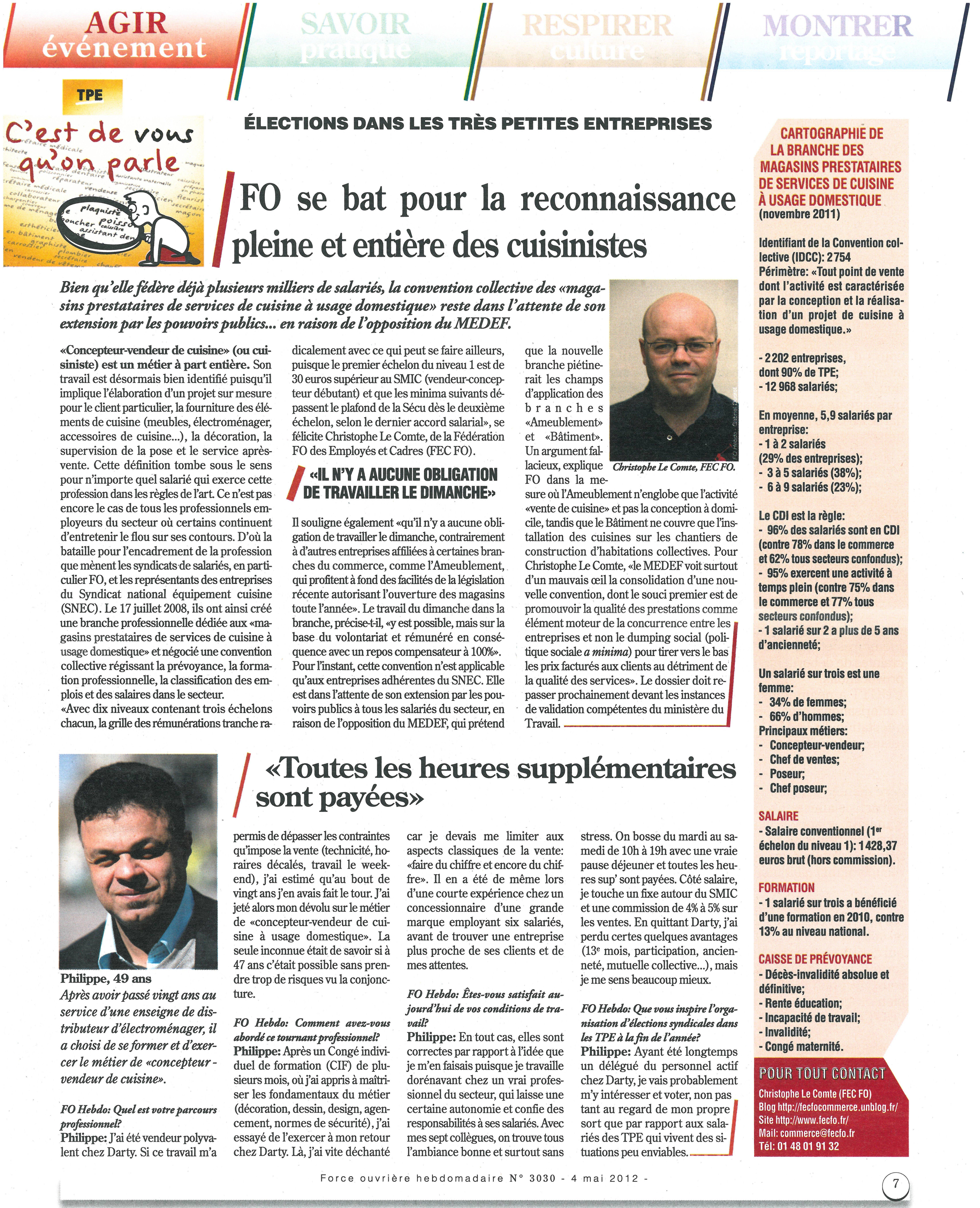 Election Tpe 2012 Fo Se Bat Pour La Reconnaissance Pleine Et