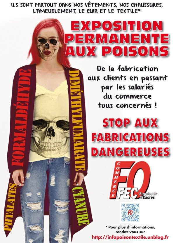 poison textile cuir