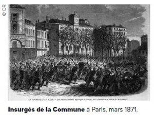 les insurgés de la commune